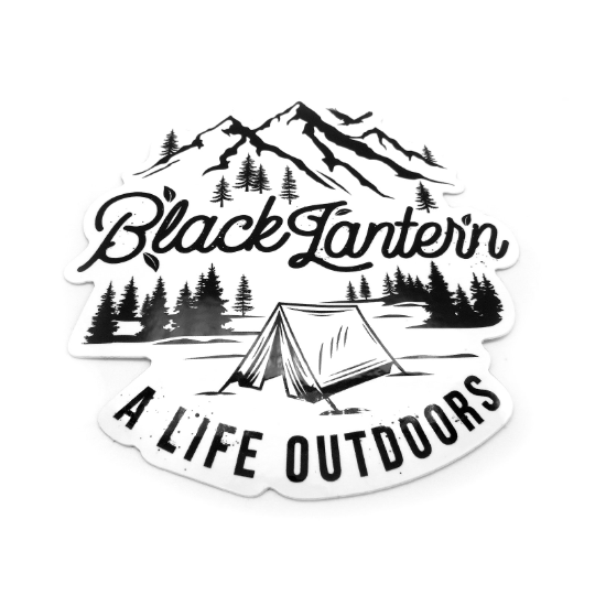 A life Outdoors - Die Cut Sticker