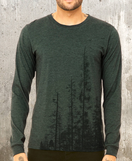 Pine Tree Forest Long Sleeve