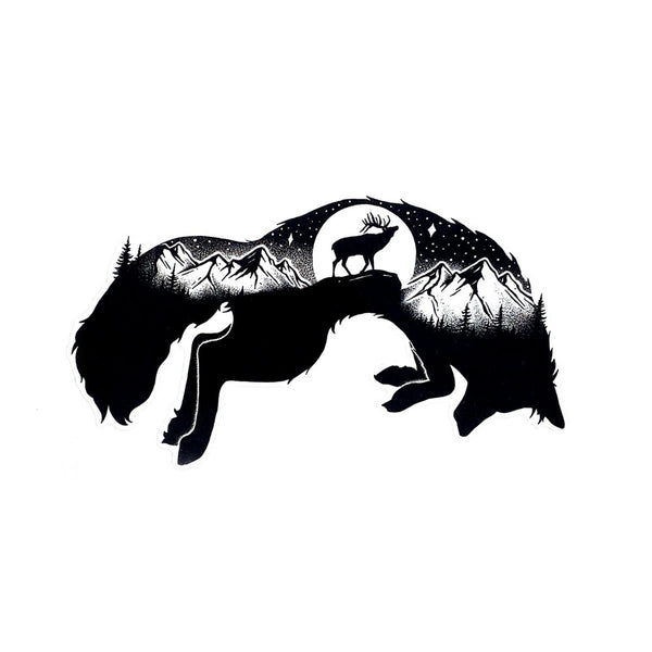 Fox Vinyl Decal - Die Cut Sticker