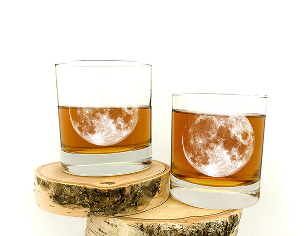 Full Moon Glasses- Crawlspace Studios