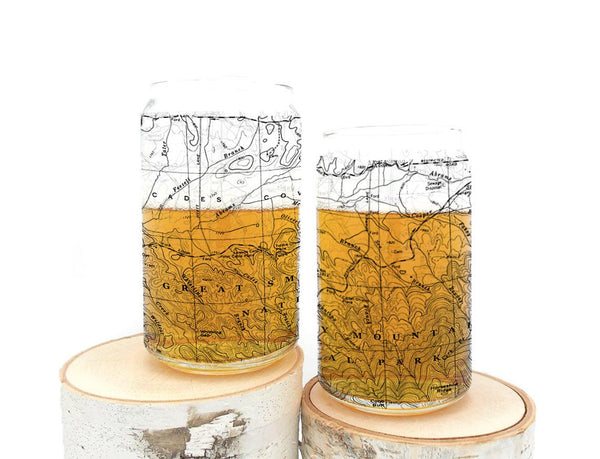 Great Smoky Mountains National Park Can Glasses