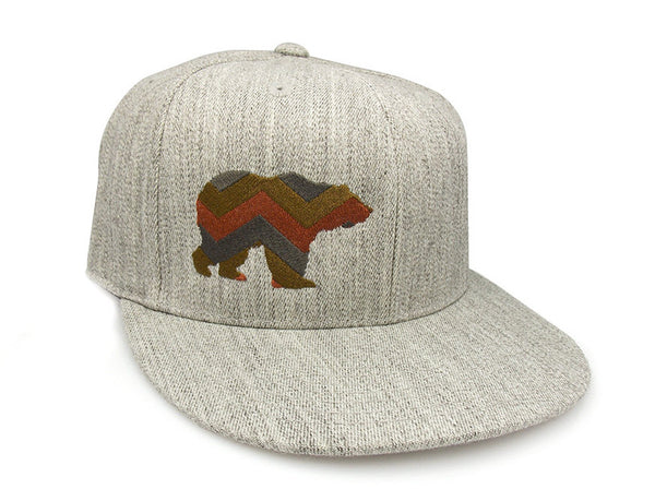 Chevron Bear Hat- Crawlspace Studios