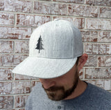 Split Tree Illustration Hat
