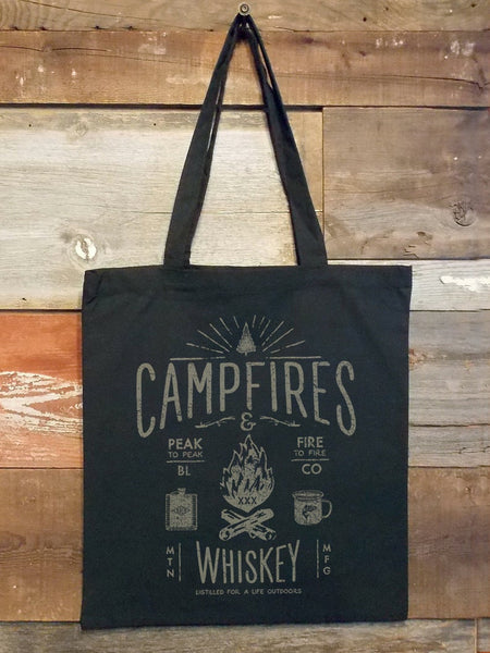 Campfires & Whiskey Tote Bag