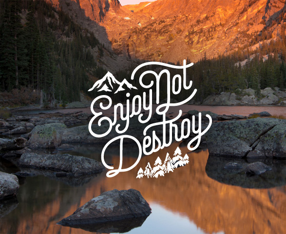 Enjoy Not Destroy