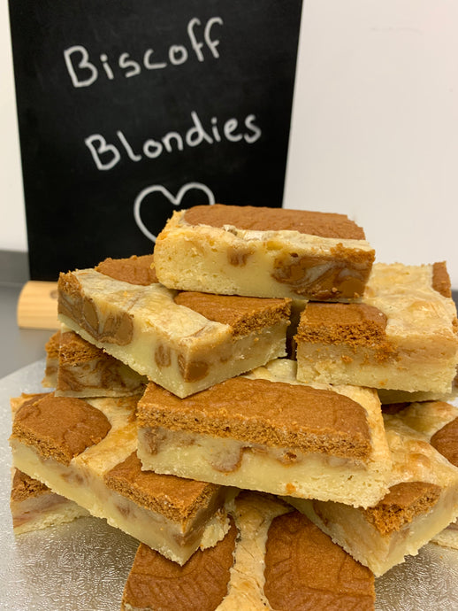 Staceys Little Bakery Delicious Home Made Blondies Available To Mail Order And Delivered To Your Door In COnvenient Letter Box Sized Boxes