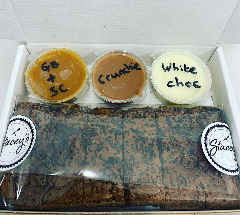 *Mini Dipping Box - Brownie