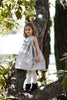 Big Bow Silver luxury baby dress
