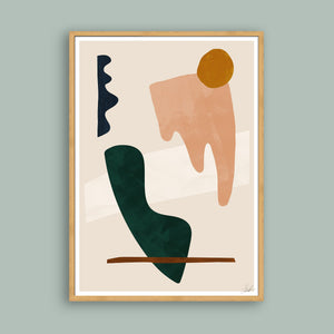 At the Beach no. 3 - Limited Edition Art Print - janskacelik