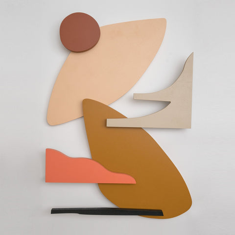 At The Sunset no. 1 - Wall Sculpture - janskacelik