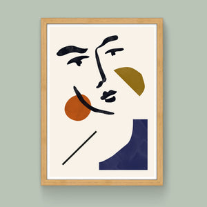 Face No. 1 Limited Edition Art Print - janskacelik