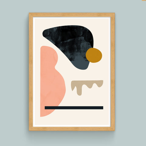 Floating Shapes No. 4 Limited Edition Art Print - janskacelik