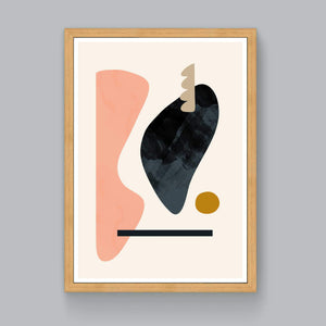 Floating Shapes No.2 Limited Edition Art Print - janskacelik