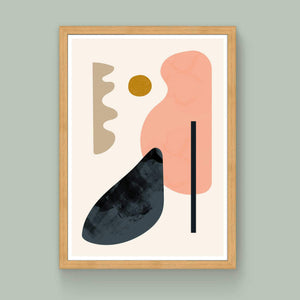 Floating Shapes No.3 Limited Edition Art Print - janskacelik
