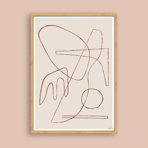 Lines No. 4 - Limited Edition Art Print - janskacelik