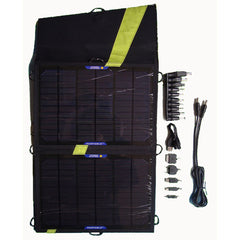 13 W solar charger for tablets and mobile phones