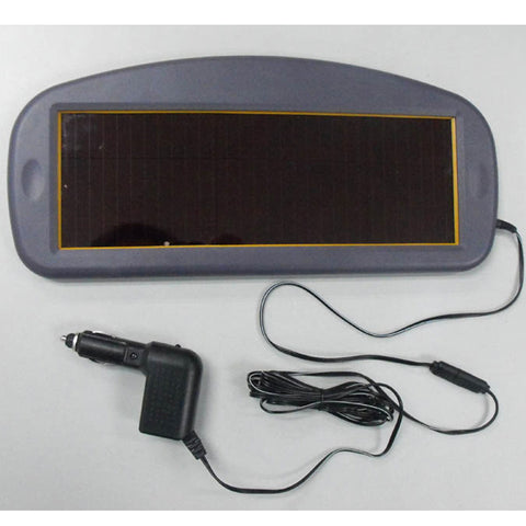 Solar charger for car batteries