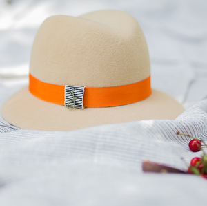 Jolie B Orange Hat