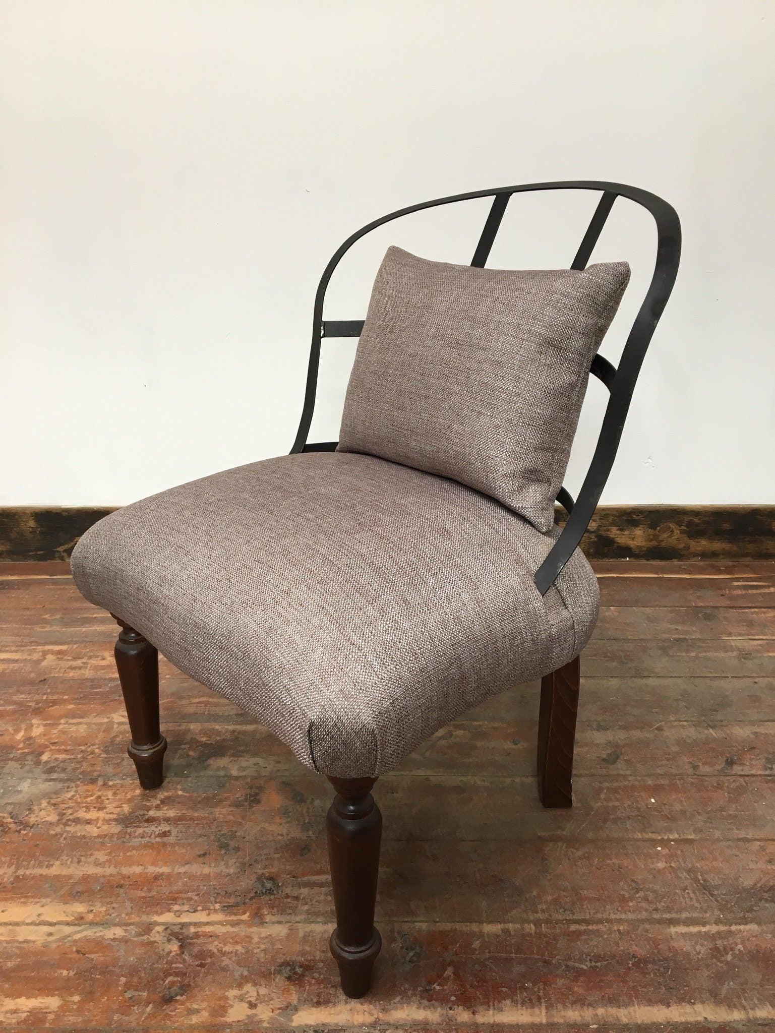NEW GREY INDUSTRIAL CHAIR - Browsers Emporium