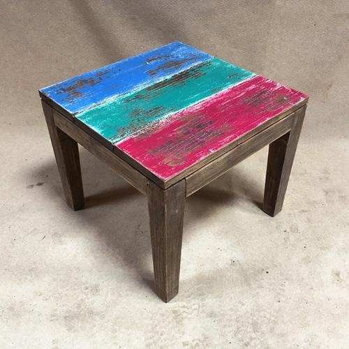 MULTI COLORED COFFEE TABLE (NEW) - Browsers Emporium