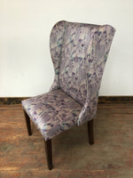 SILVER ANY LILAC BEDROOM CHAIR - Browsers Emporium