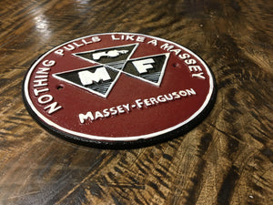 CAST METAL MASSEY FERGUSON SIGN (NEW)
