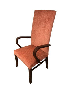 ORANGE HIGH BACK CHAIR (NEW) - Browsers Emporium