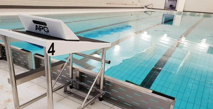 Installation starts at groundbreaking University of Warwick pool