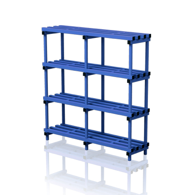 Double section free standing shelf - apgleisure