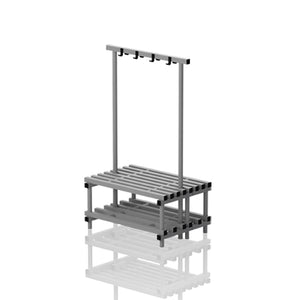 Double benches with hanger - apgleisure
