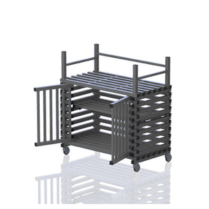 Mobile Cabinet with top rack - apgleisure