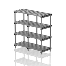 Load image into Gallery viewer, Double section free standing shelf - apgleisure