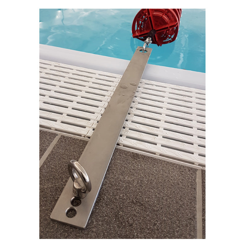 Deck Level Flat Lane Rope Adaptor - apgleisure