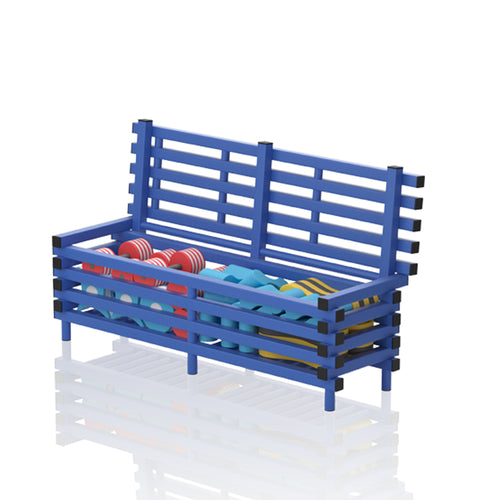 Bench with storage - apgleisure
