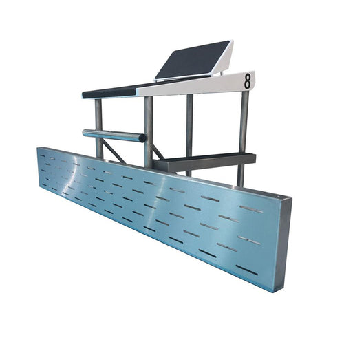 Stainless Steel Deck Level Turning Board - apgleisure
