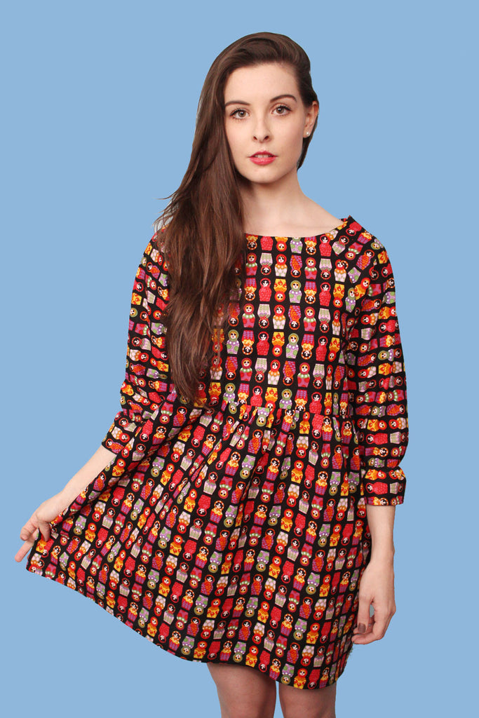 Russian Doll Smock Dress