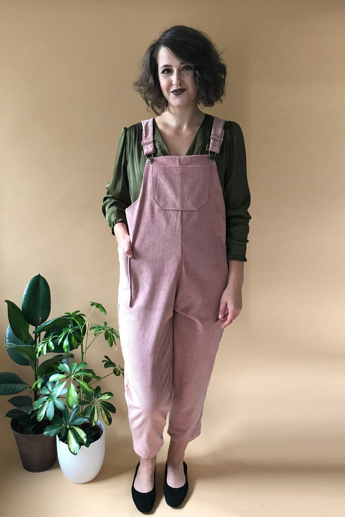 Corduroy Dungarees - Multiple Colours