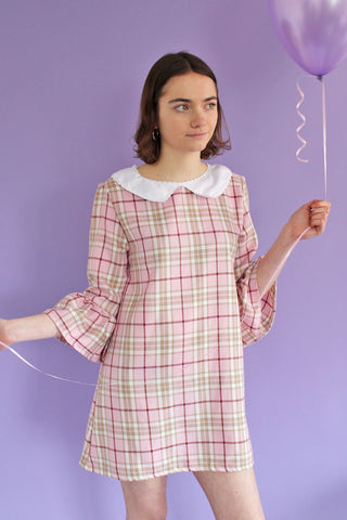 Pastel Tartan Cher Dress