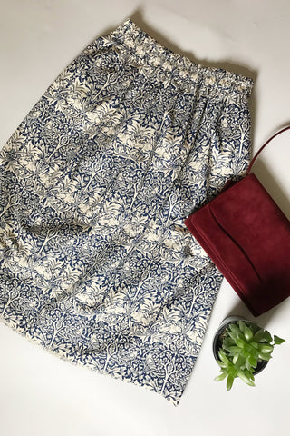 William Morris Midi Skirt