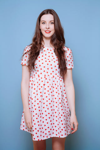 Love Heart Smock Dress