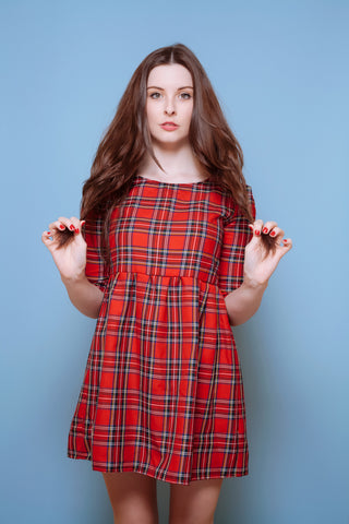 Tartan Smock Dress - 3 Colours