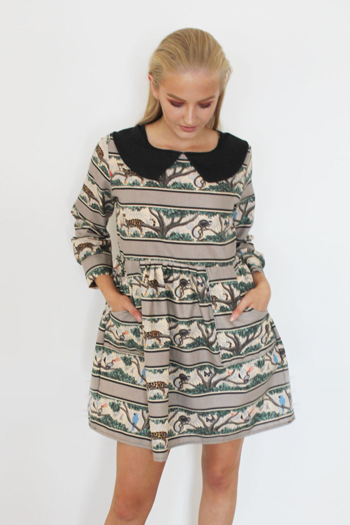 Safari Smock Dress
