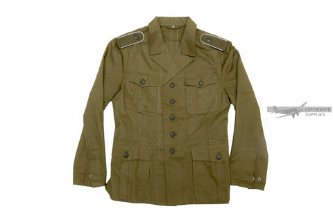 German Army Tropical Tunic (DAK) - 1st Pattern