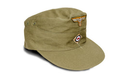 M40 German Army Tropical cap with insignia