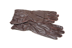 Fallschirmjäger Jump Gloves in dark Brown