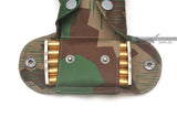 Detail of k98 ammo clips and Splinter-b bandoleer