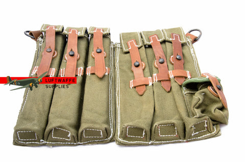 Green Mp40 pouch set