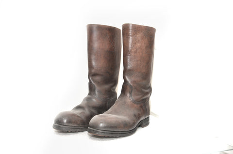 German Luftwaffe Brown Marching Boots for Other Ranks