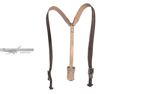 Luftwaffe brown Y-straps
