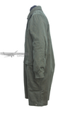 Grunmeliert smock from the side for paratroopers